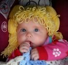 Cabbage Patch Hair Wig/Hat (made to fit all sizes)