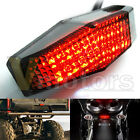 Smoke LED Running Stop Brake License Plate Tail Light Lamp Motorcycle For Honda