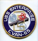 CVAN-65 USS ENTERPRISE ATTACK AIRCRAFT CARRIER NAVY SHIP SQUADRON PATCH CVN-
