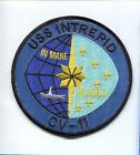 CV-11 USS INTREPID NAVY AIRCRAFT CARRIER SHIP SQUADRON PATCH
