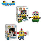 Despicable Me Movie Hula and Fire Alarm Minion Pop! Vinyl Figure SET OF 2- FUNKO