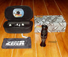 FRED ZINK CALLS MONEY MAKER GOOSE CALL+CASE+BAND+DVD+REEDS BLACK STEALTH NEW!