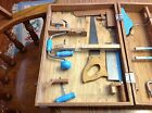 Vintage Handy Andy Toy Carpenter and Tool Chest with Tools