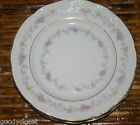 LOT OF 4 BISHOP STONIER ENGLAND SEMI IMPERIAL PORCELAIN SALAD PLATES W592 1900'S