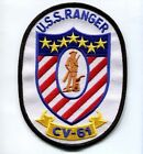 CV-61 USS RANGER NAVY AIRCRAFT CARRIER SHIP SQUADRON PATCH