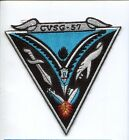 CVSG-57 CARRIER ANTISUBMARINE AIR GROUP 57 NAVY SQUADRON PATCH