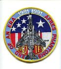 457th TFS 1981-1991 USAF McDONNELL F-4 PHANTOM FIGHTER SQUADRON PATCH