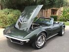 Chevrolet  Corvette Convertible with original hardtop 1968 corvette convertible 427 435 l 71 matching numbers