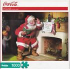 COCA-COLA A GIFT FOR SANTA 1,000 PIECE JIGSAW PUZZLE NEW
