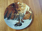 FACES OF NATURE CANYON OF THE CAT MOUNTAIN LION LIMITED EDITION COLLECTOR PLATE