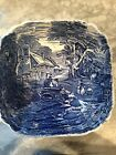 Old Foley James Kent Staffordshire England Blue & White Transferware LAST CHANCE