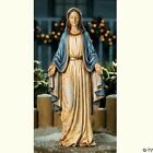 Virgin MARY Blessed Mother Garden Statue Outdoor Religous Jesus Christian Decor
