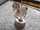 Music Box Heritage House Carousel Horse County Fair Melodies Collection