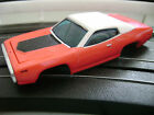 SOLD OUT Autoworld Xtraction Lt Red 71 Plymouth GTX HO Slot Car Body Fits AFX