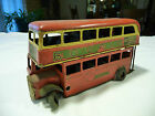 Vintage Tri-Ang Minic Double Decker Bus Made In England