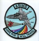 McDONNELL DOUGLAS F-15 EAGLE ASIMS USAF FIGHTER SQUADRON PATCH