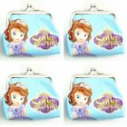 1x Sofia princess Girls CHILDREN Coins Money Pouch Bag Purse Wallet 8*6cm F359