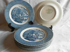 7 CURRIER AND IVES ROYAL CHINA 10