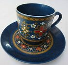 Lovely European Blue Dutch Tulip Design Cup and Saucer