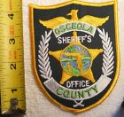 OSCEOLA COUNTY FLORIDA SHERIFF'S OFFICE PATCH (HIGHWAY PATROL, POLICE, SHERIFF)
