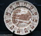 1977 Alfred Meak Staffordshire Calendar Zodiac Plate God Bless Our House 9