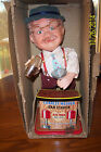 TIN CHARLEY WEAVER THE BARTENDER BATTERY OP MADE BY THE ROY ROGERS CORP