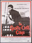 THE 400 BlOWS French 47x62 RI poster Exc Cond Francois Truffaut filmartgallery