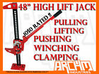 ARCHM4X4 48 HI LIFT FARM JACK H D 1500KG 4X4 4WD RECOVERY WINCH PULLER HIGH KIT