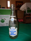 Vintage Sparkling Canada Dry Water Club Soda 7oz Textured  Bottle