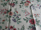 Floral glazed cotton 1 1/4 yard Joan Kessler for Concord