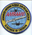 AM-120 AMRAAM MISSILE USAF NAVY USMC MARINE CORPS FIGHTER SQUADRON WEAPONS PATCH