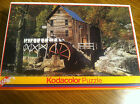 500 Piece Kodacolor Jigsaw Puzzle House Water Wheel NEW SEALED ROSE ART #21040