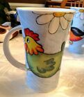 DUNOON STONEWARE SCOTLAND MUG OVERSIZED - WILD BUNCH Chicken & Duck