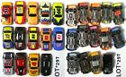 12+ Rokar X Life-Like M & T Chassis HO NASCAR Slot Race Cars Fast Fun Lot287