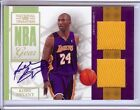 2009-10 NATIONAL TREASURES KOBE BRYANT AUTO DUAL JERSEY 03 25!!