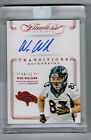 WES WELKER 2014 FLAWLESS TRANSITIONS AUTOGRAPH # 4 15 BRONCOS SEALED SP