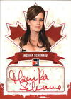 2011 In The Game Canadiana Autographs Red #AMS1 Monika Schnarre 1