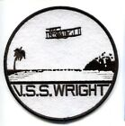 CVL-49 USS WRIGHT NAVY AIRCRAFT CARRIER SHIP SQUADRON PATCH