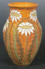 Common Ground Pottery Daisy vase, art pottery, arts and crafts pottery