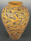Common Ground Pottery Monarch vase, art pottery, arts and crafts pottery