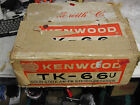 VINTAGE KENWOOD MODEL TK - 66 STEREO RECEIVER WITH ORIGINAL BOX FREE SHIPPING