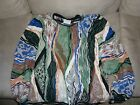 Vtg 90's Coogi Sweater EXC Condition 100% Mercerized Cotton Cosby Ugly XL Wild!!
