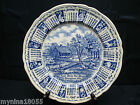 1975 Alfred Meak Staffordshire Calendar Zodiac Plate God Bless Our House 9