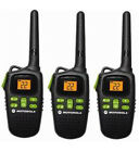 Motorola Talkabout 20 Mile Long Range 2 Way Radio Walkie Talkie Set 3 MD200TPR