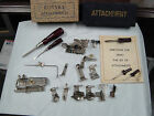 Vintage Greist/Sears Kenmore Rotary Sewing Machine Attachment Lot