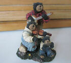 Boyds BBC Bubba Bearstone----Ma, Pa, & Junior....Blue Grass Band---HTF
