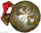Waterford Holiday Heirlooms Silver Celtic Knot Ball Ornament 153832