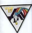 CVW-17 CARRIER AIR WING 17 NAVY AIRCRAFT CARRIER SQUADRON PATCH