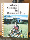 What's Cooking in BERMUDA 1973 Island Cookbook Preserves~Honey~Wedding~Christmas