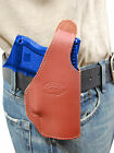 New Barsony Burgundy Leather OWB Holster Astra Beretta Comp Sub Comp 9mm 40 45